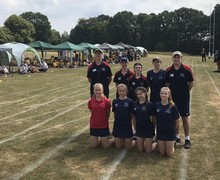 Pupil Leaders at Sports Day 2018