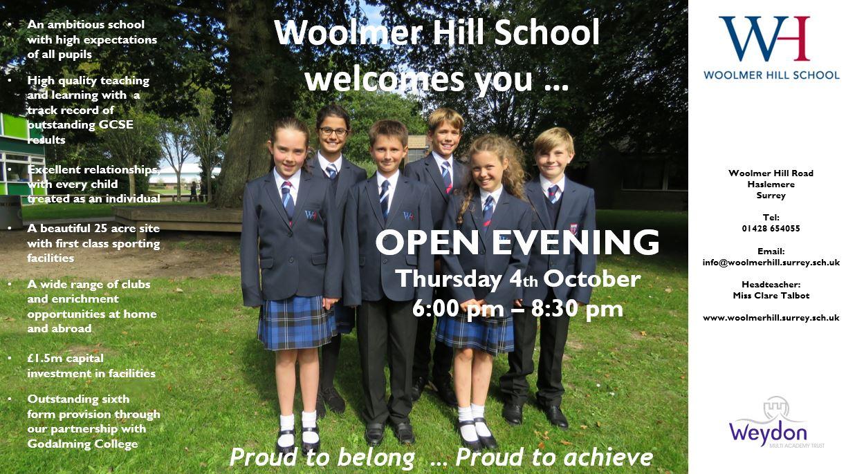 Website Open Evening