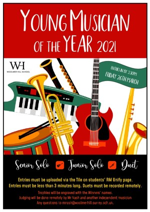 Young Musician poster 2021